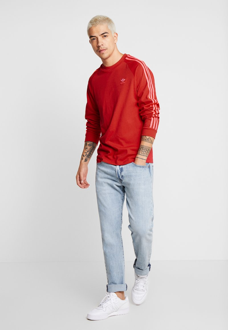 adidas Originals - Långärmad tröja - scarlet