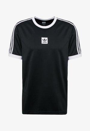 CLUB - T-shirt imprimé - black/white