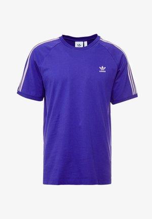 ADICOLOR 3 STRIPES TEE - T-shirt imprimé - collegiate purple