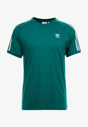 ADICOLOR 3 STRIPES TEE - T-shirts print - collegiate green