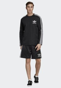 adidas Originals - BASEBALL CREWNECK SWEATSHIRT - Långärmad tröja - black - 1