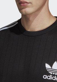 adidas Originals - BASEBALL CREWNECK SWEATSHIRT - Långärmad tröja - black - 3