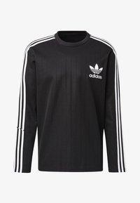 adidas Originals - BASEBALL CREWNECK SWEATSHIRT - Långärmad tröja - black - 6