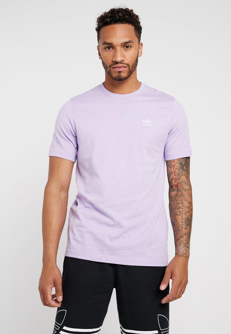 adidas Originals - ADICOLOR ESSENTIAL TEE - T-shirt med print - purple glow