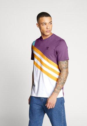 TEE - T-shirt imprimé - rich mauve