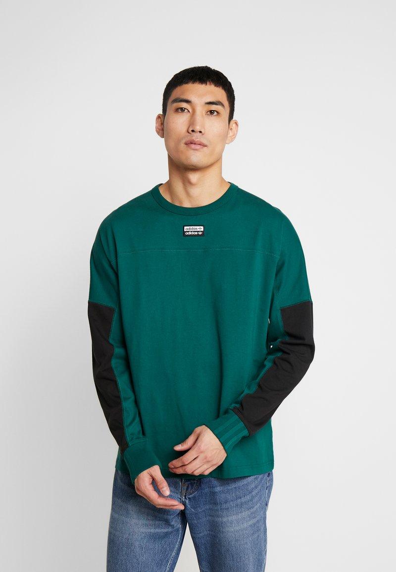 adidas Originals - REVEAL YOUR VOICE LONGSLEEVE - Longsleeve - collegiate green
