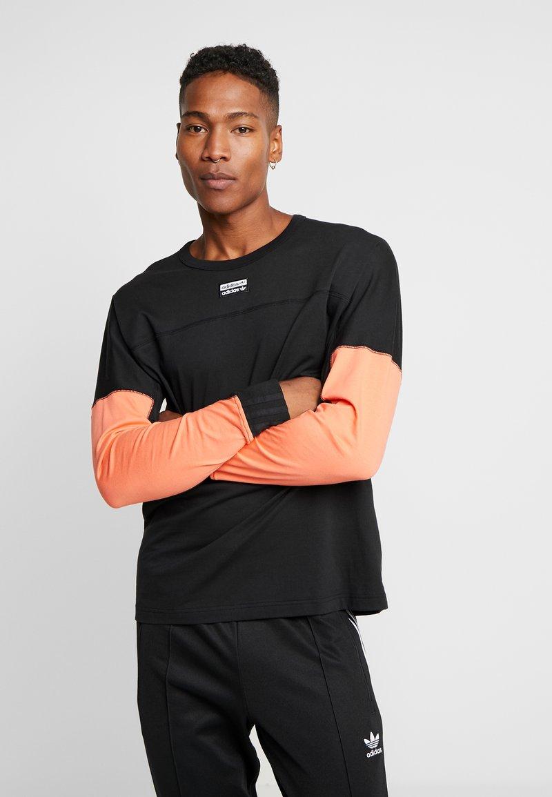 adidas Originals - REVEAL YOUR VOICE LONGSLEEVE - Long sleeved top - black