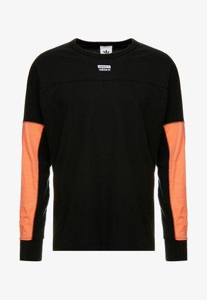 REVEAL YOUR VOICE LONGSLEEVE - Camiseta de manga larga - black