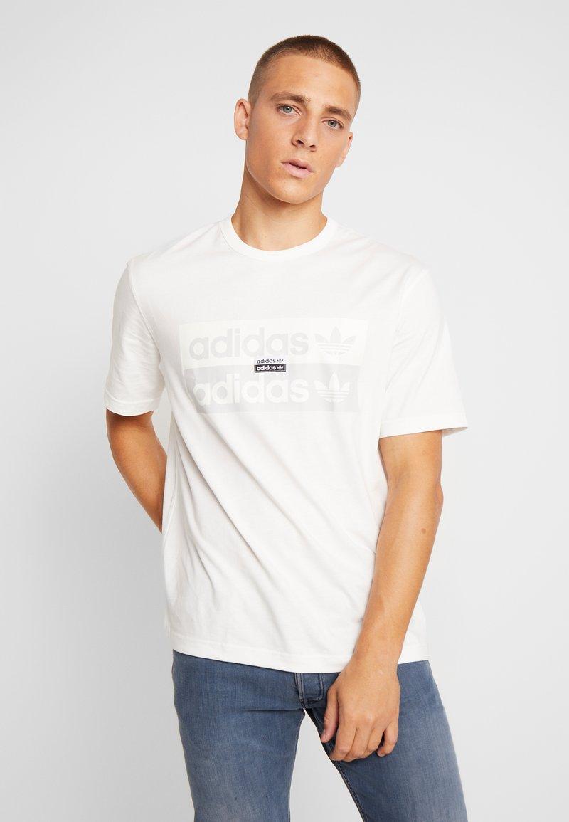 adidas Originals - REVEAL YOUR VOICE TEE - T-Shirt print - core white