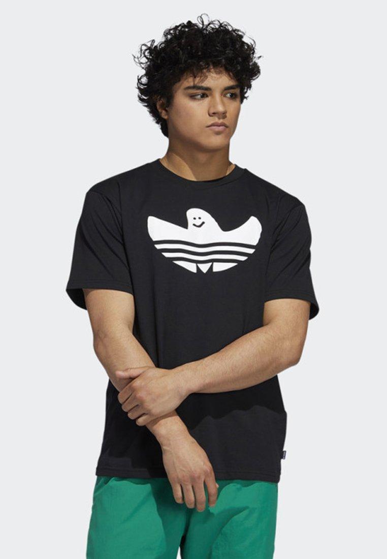 adidas Originals - SHMOO T-SHIRT - T-shirt con stampa - black