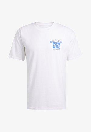 BK FLOWERS T-SHIRT - T-shirt imprimé - white