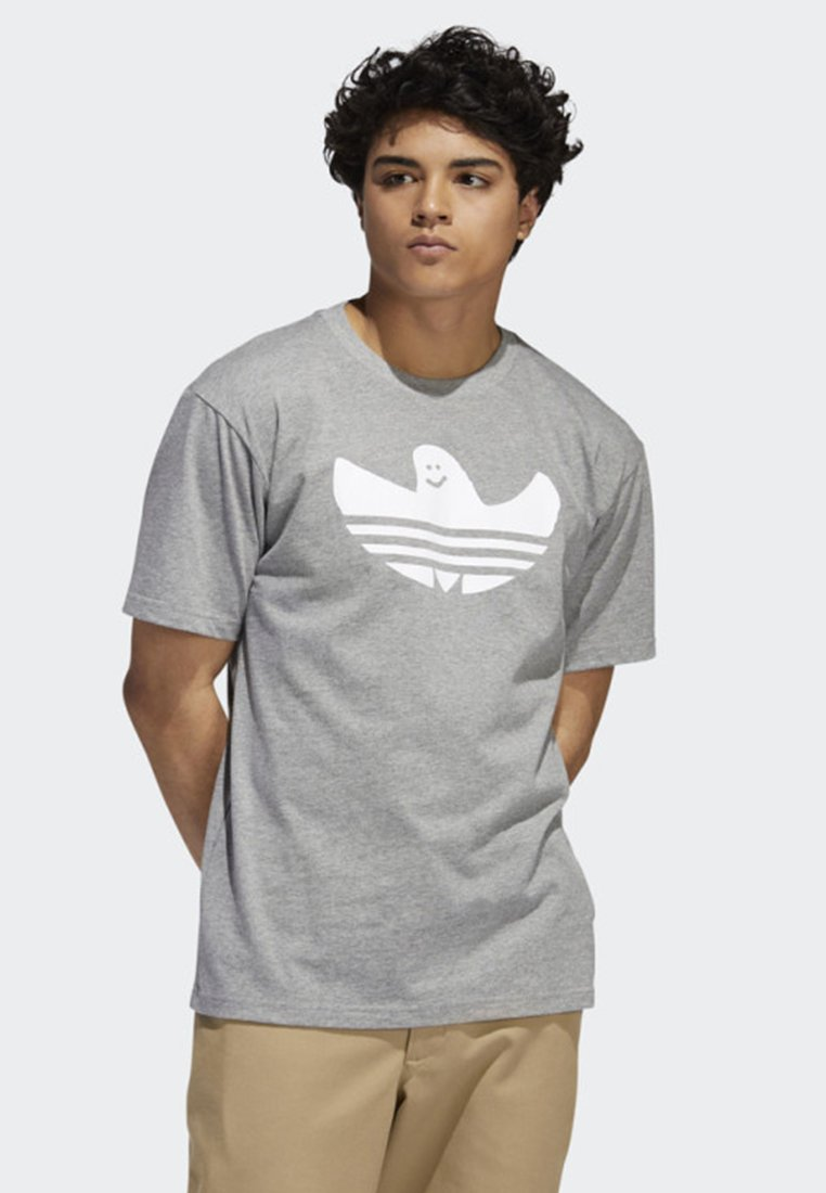 adidas Originals - SHMOO T-SHIRT - Print T-shirt - grey