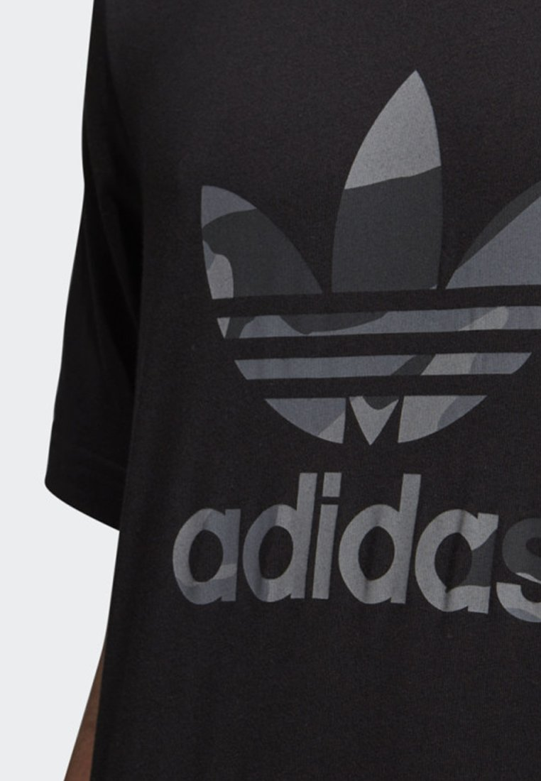 Adidas shirtImprimé T Black Originals Camouflage Trefoil trdQshCx
