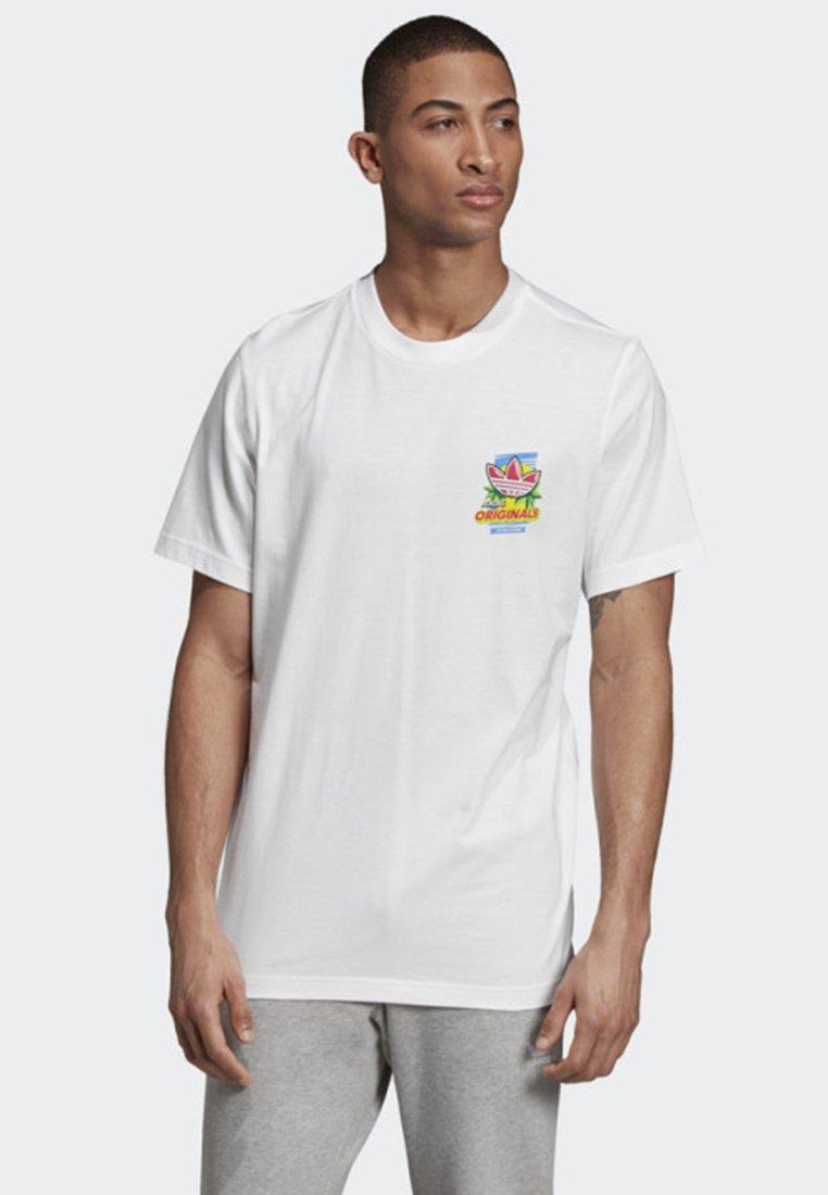 adidas Originals - BODEGA POPSICLE T-SHIRT - T-shirt imprimé - white
