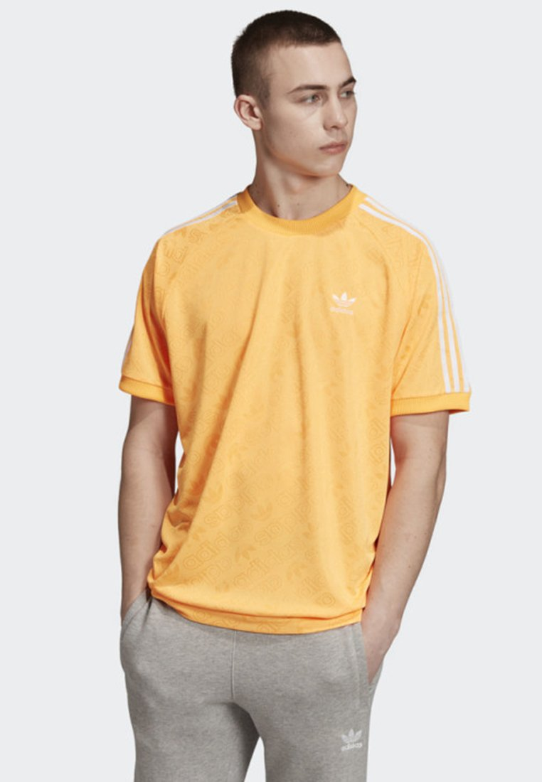 adidas Originals - MONOGRAM  - T-Shirt print - orange