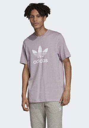 TREFOIL T-SHIRT - T-shirt print - purple