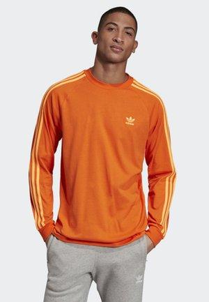 3-STRIPES LONG-SLEEVE TOP - T-shirt à manches longues - orange