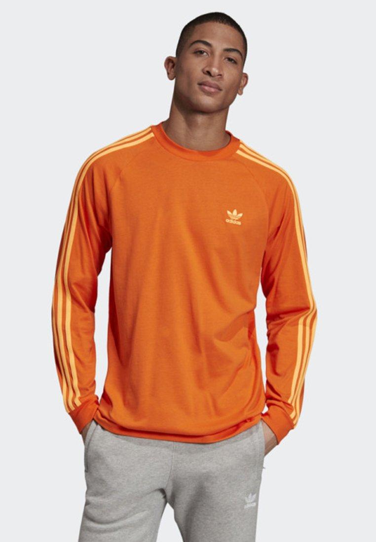 adidas Originals - 3-STRIPES LONG-SLEEVE TOP - Långärmad tröja - orange