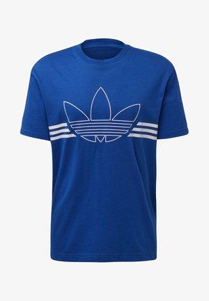 OUTLINE T-SHIRT - Triko spotiskem - blue