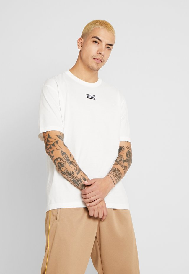 R.Y.V. SHORT SLEEVE TEE - T-shirt con stampa - core white