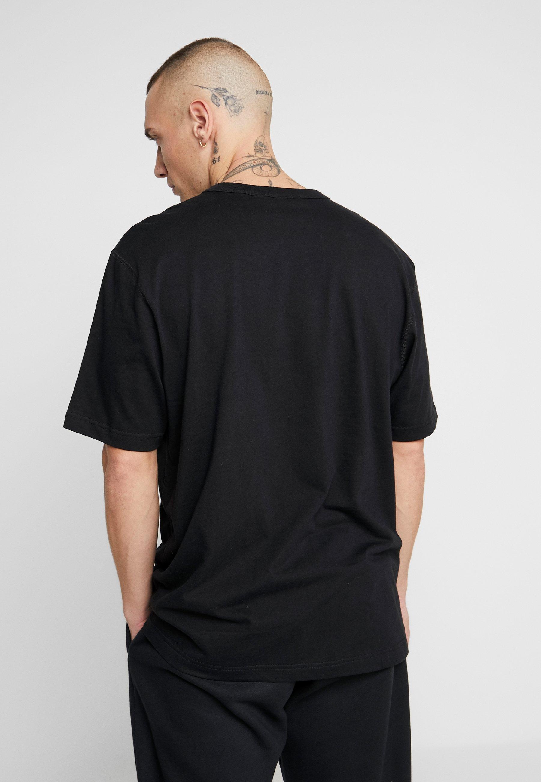 adidas Originals TEE - T-shirt z nadrukiem - black