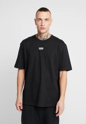R.Y.V. SHORT SLEEVE TEE - T-shirt z nadrukiem - black