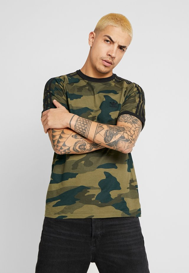 CAMO CALI SHORT SLEEVE GRAPHIC TEE - Camiseta estampada - multicolor