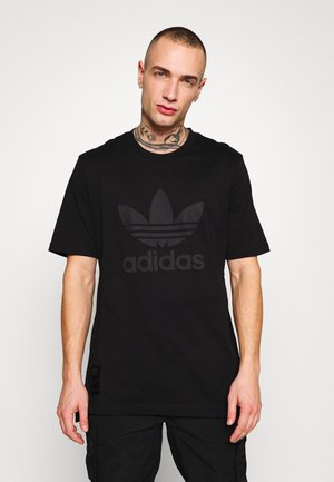 WARMUP TEE - Print T-shirt - black