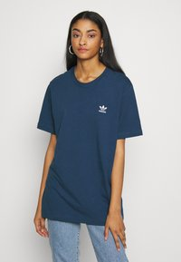 adidas Originals - ESSENTIAL TEE UNISEX - T-shirt basic - marin - 3