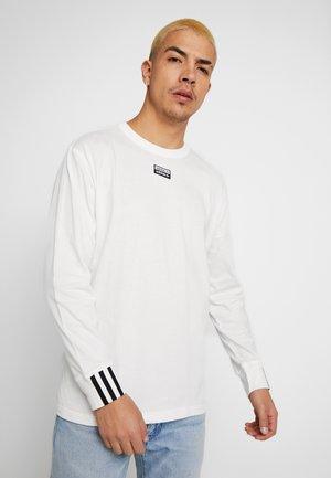 R.Y.V. LONG SLEEVE T-SHIRT - T-shirt à manches longues - cwhite