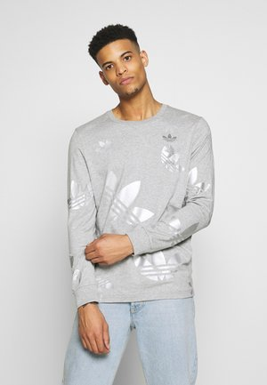 Long sleeved top - grey/silver
