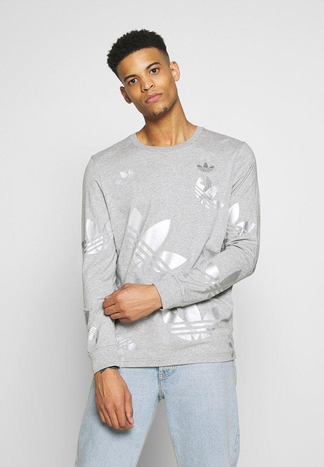 Maglietta a manica lunga - grey/silver