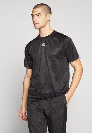 GRAPHICS MONO JERSEY SHORT SLEEVE - T-shirt con stampa - black/white