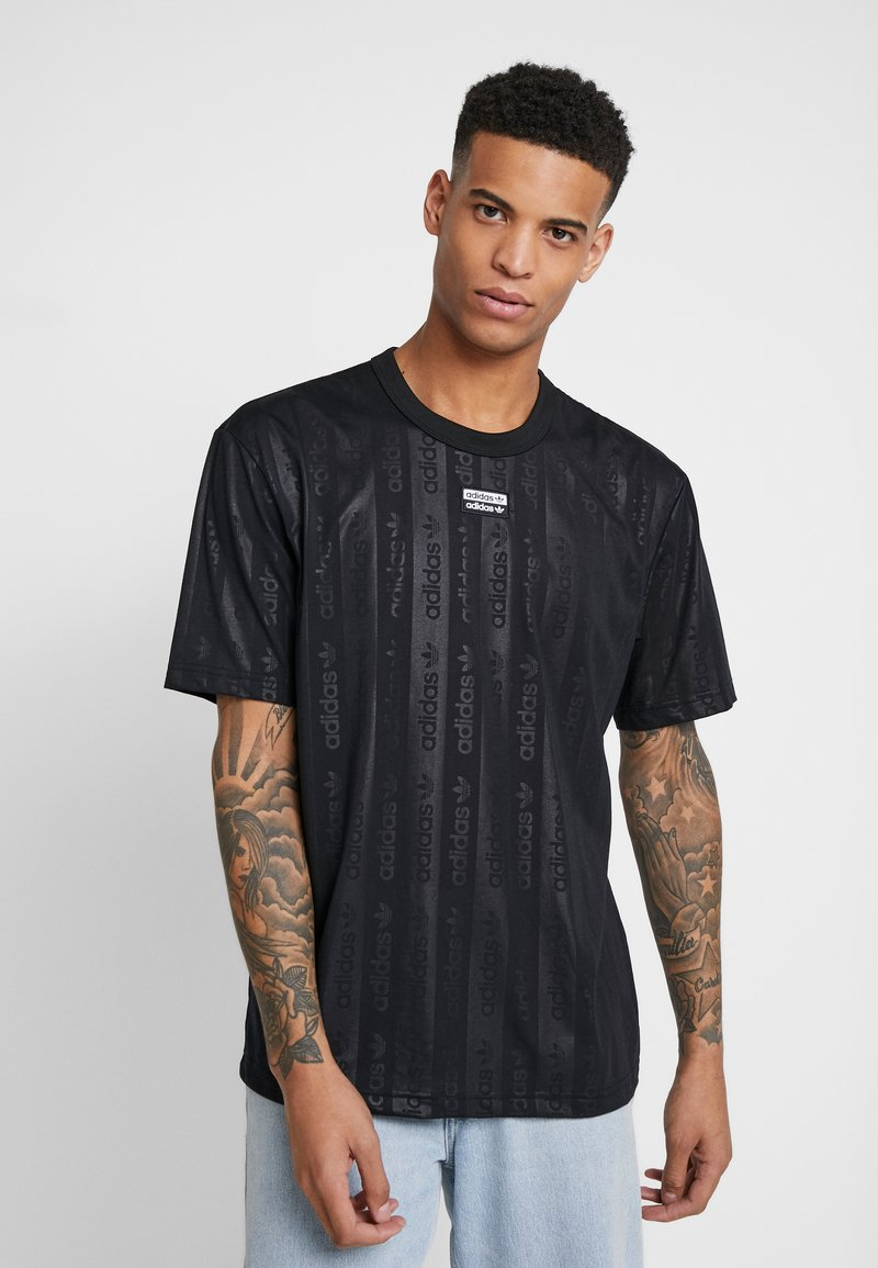 adidas Originals - T-shirt con stampa - black
