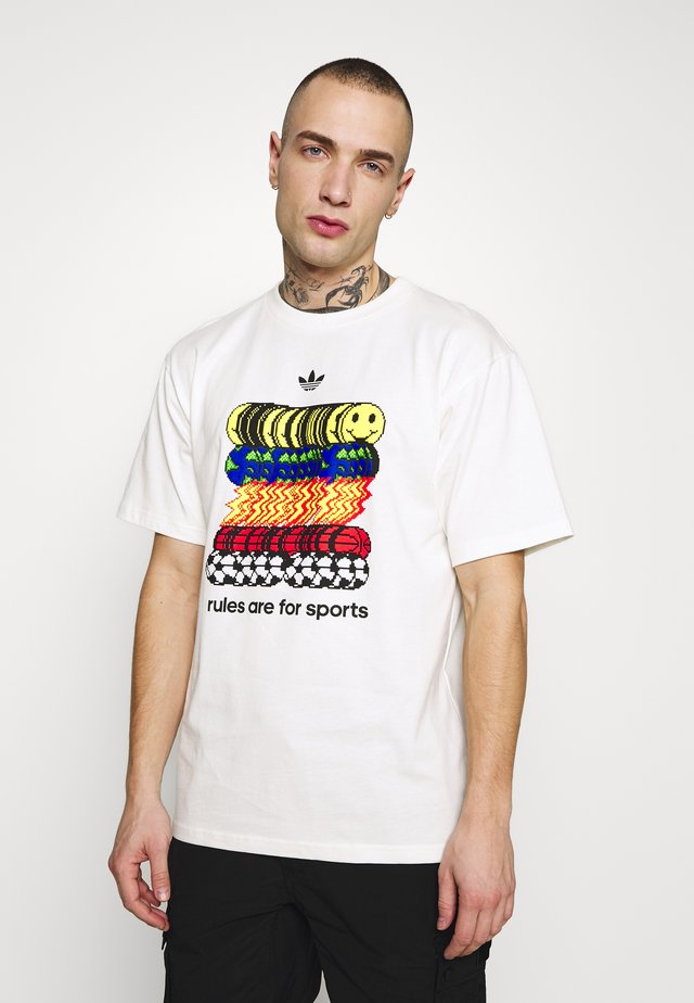 SPORTSRULE TEE - T-shirt con stampa - owhite