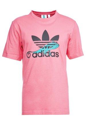LOGO PROJECT-3 SHORT SLEEVE TEE - T-shirt med print - pink