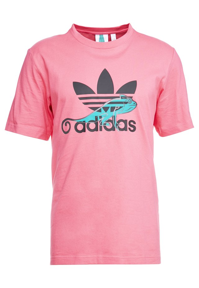 LOGO PROJECT-3 SHORT SLEEVE TEE - T-shirt con stampa - pink