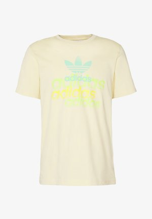 SHATTERED LOGO SHORT SLEEVE GRAPHIC TEE - T-Shirt print - easyel