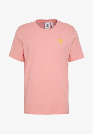 FRONT BACK TEE - T-shirts print - pink