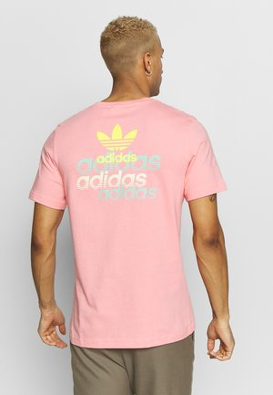 FRONT BACK TEE - T-shirt med print - pink