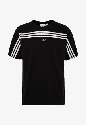 STRIPE TEE - T-shirt print - black/white