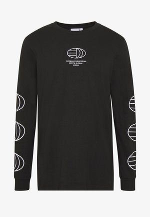 GRAPHICS GRAPHIC TEE LONG SLEEVE T-SHIRT - Long sleeved top - black