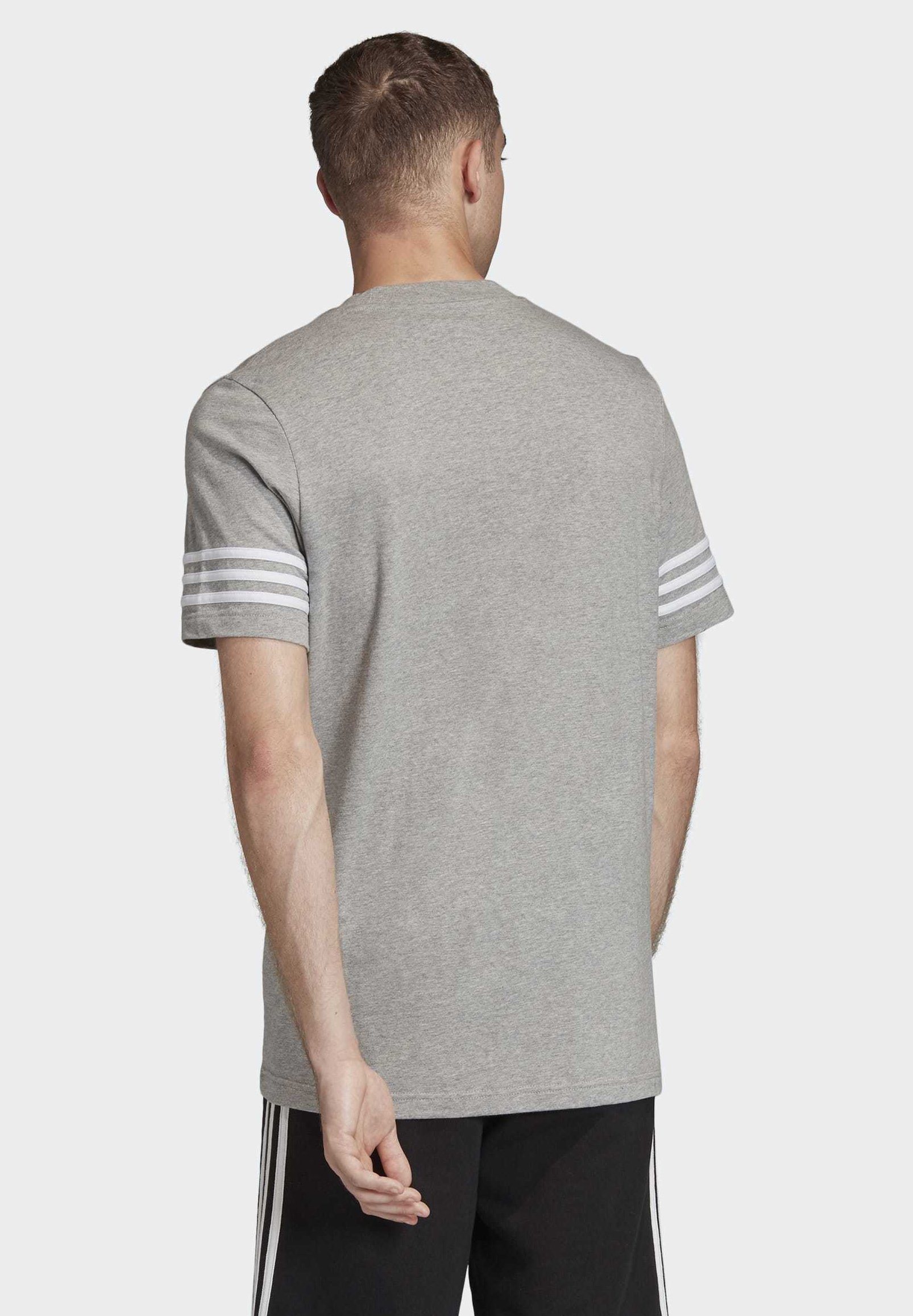 adidas Originals OUTLINE T-SHIRT - T-shirt imprimé - grey