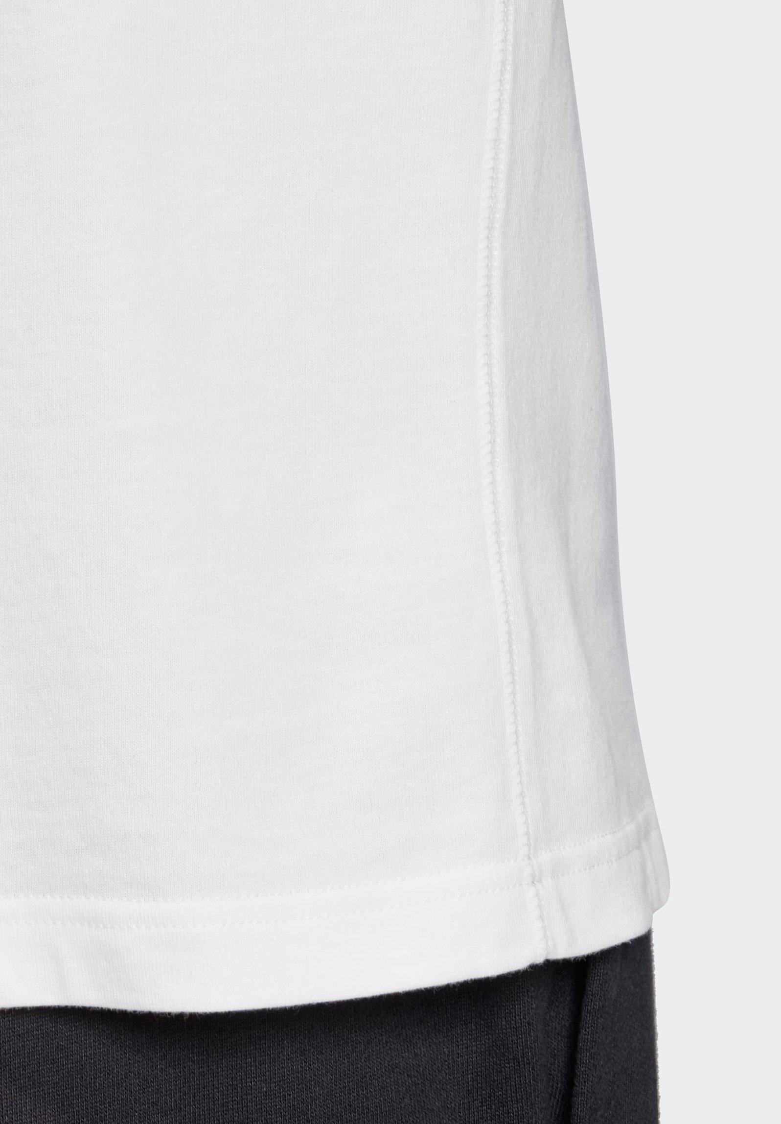 adidas Originals R.Y.V. MESSAGE T-SHIRT - T-shirt imprimé - white