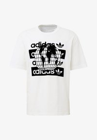 adidas Originals - R.Y.V. MESSAGE T-SHIRT - T-shirt imprimé - white - 6