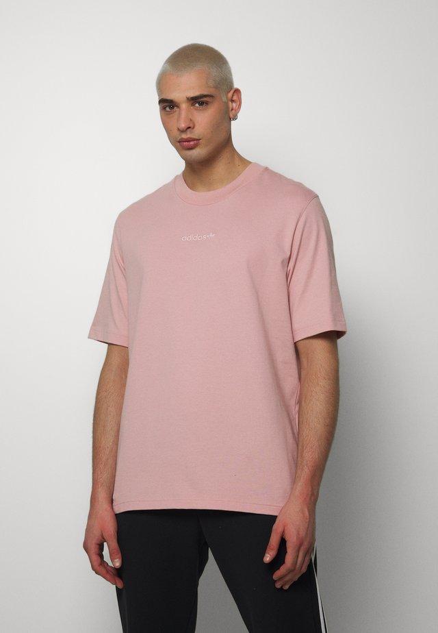 PASTEL SHORT SLEEVE TEE - T-shirt med print - pink