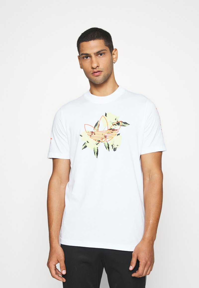adidas Originals - TEE - T-shirt imprimé - white