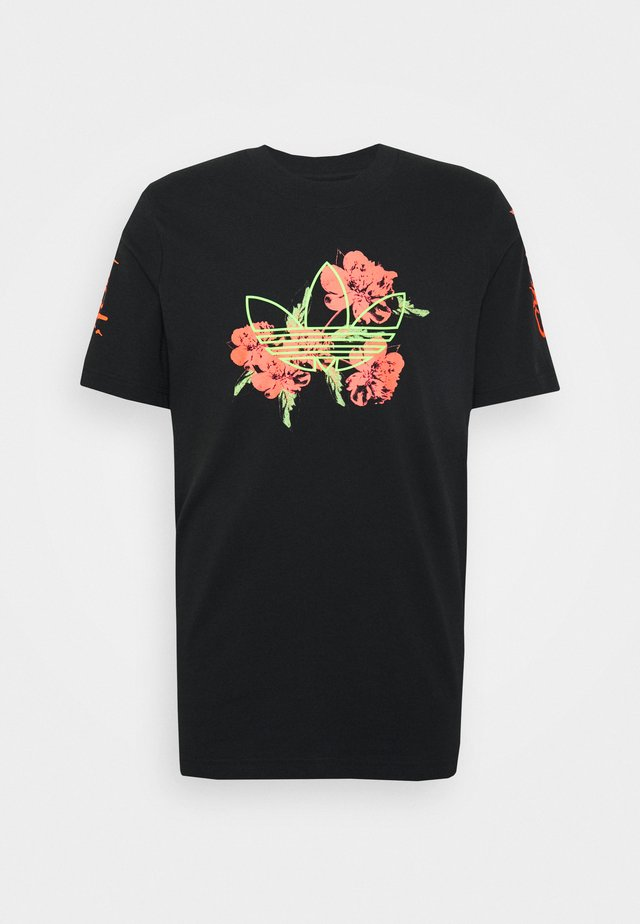 TEE - Camiseta estampada - black