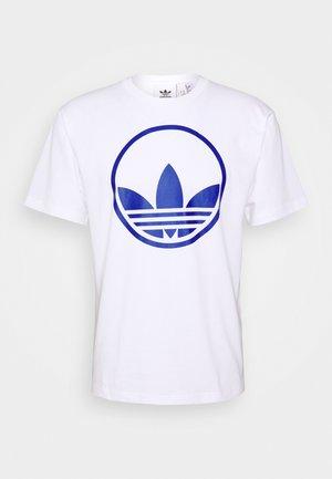 CIRCLE TREFOIL - Print T-shirt - white
