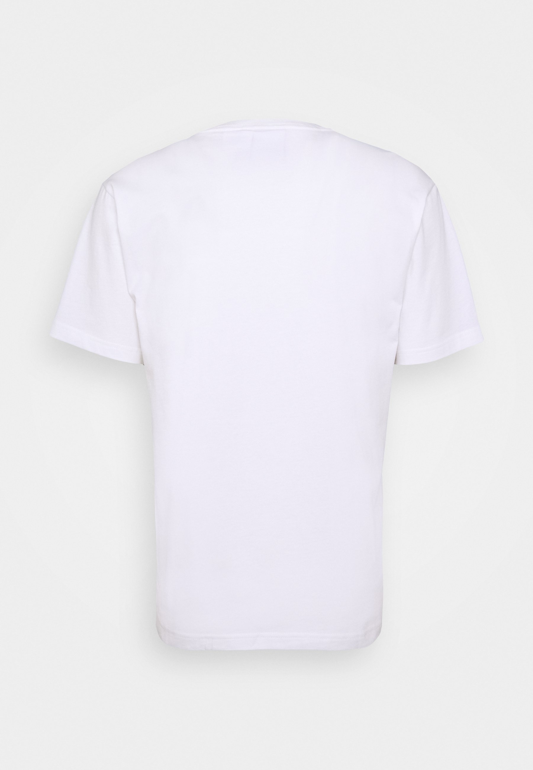 Team College Big Logo T Shirt WhiteMULTI COLOUR